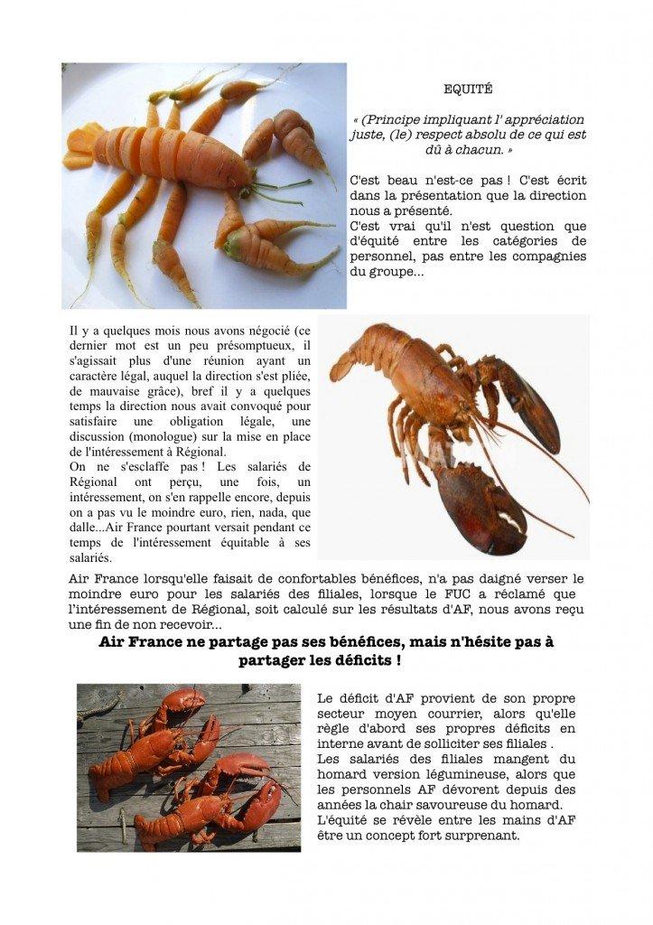 The lobster's cni dans compagnie aerienne homard1-723x1024
